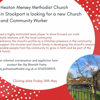 Heaton Mersey Community worker advert